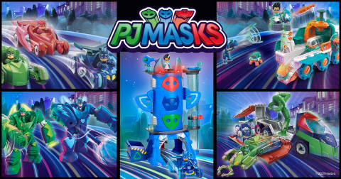 Hasbro designed and created product lines for PJ MASKS launching second half 2021. (Photo: Business Wire)