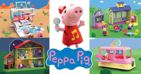 Hasbro designed and created product lines for PEPPA PIG launching second half 2021. (Photo: Business Wire)