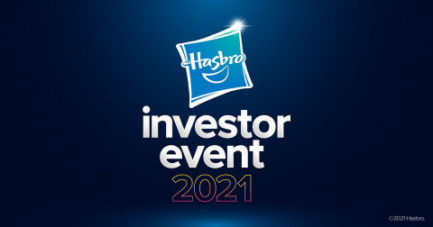 Hasbro 2021 Virtual Investor Event (Photo: Business Wire)
