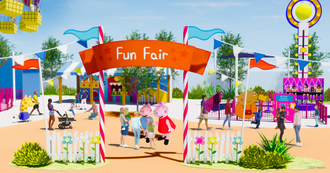 In partnership with Merlin entertainment, opening first PEPPA PIG theme park with Legoland Florida in 2022. (Photo: Business Wire)