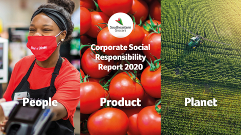 Southeastern Grocers releases its 2020 Corporate Social Responsibility Report announcing its current achievements and ongoing commitment to fostering stronger communities, offering better products and doing its part to create a more sustainable planet. (Photo: Business Wire)