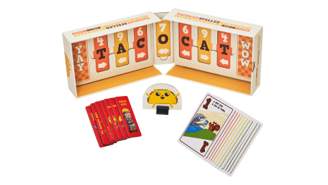 Tacocat Spelled Backwards by Exploding Kittens (Photo: Business Wire)
