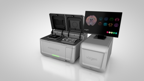 Vizgen Announces MERSCOPE™ First Commercial Solution to Combine Single Cell and Spatial Genomics Analysis for Advancing Cellular and Molecular Biology Research. (Photo: Business Wire)