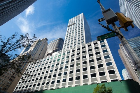 View announced its smart windows will be installed at 730 Third Avenue, the Midtown East New York City office tower owned by Nuveen Real Estate, and its development advisor, Taconic Partners. (Photo: Business Wire)