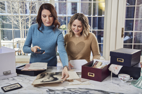 The Home Edit and Ancestry® have teamed up to provide spring cleaning solutions to refresh the home in a more meaningful way this year. (Photo: Ancestry)