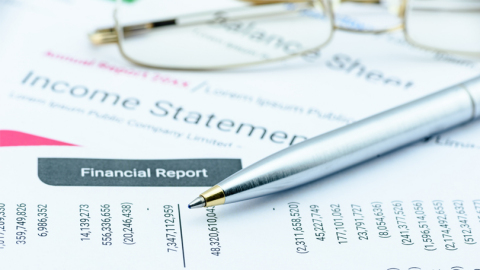 Financial documents (Graphic: Business Wire)