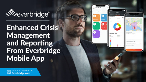 Everbridge Announces Next Generation of Mobile App for Organizations to Manage the Full Lifecycle of a Critical Event from a Device (Photo: Business Wire)