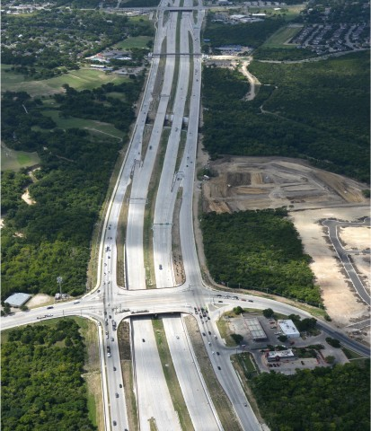 Pictured is Loyola Lane for the 183 South project in Austin, Texas. Note: Photo courtesy of the Central Texas Regional Mobility Authority