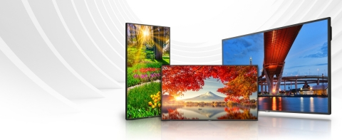 MultiSync Message Series features displays from the ME, M and MA Series (Photo: Business Wire)