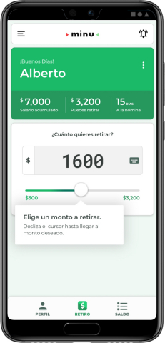 Minu, an employee financial wellness company, is the market leader in pay on demand in Mexico. (Graphic: Business Wire)