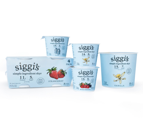 siggi's Announces New Lower Sugar Yogurt Line and Expansion of Plant-Based Offerings (Photo: Business Wire)