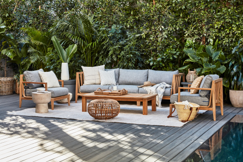 The Teak Collection combines all of Outer's design values: comfort, innovation, durability, and sustainability—with timelessly stylish new materials. (Photo: Business Wire)