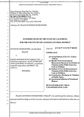 Complaint/Lawsuit