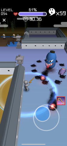 Screenshot: There are up to 8 types of Yokai guns to trigger in this survival shooter adventure. Look at the upcoming battle and choose your weapons wisely! (Graphic: Business Wire)