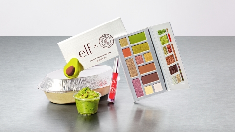 e.l.f. Cosmetics and Chipotle to launch a limited edition beauty collection on March 10. (Photo: Business Wire)