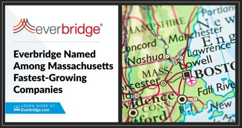 Everbridge Awarded as a Top 30 Fastest-Growing Market Leader in Massachusetts (Photo: Business Wire)