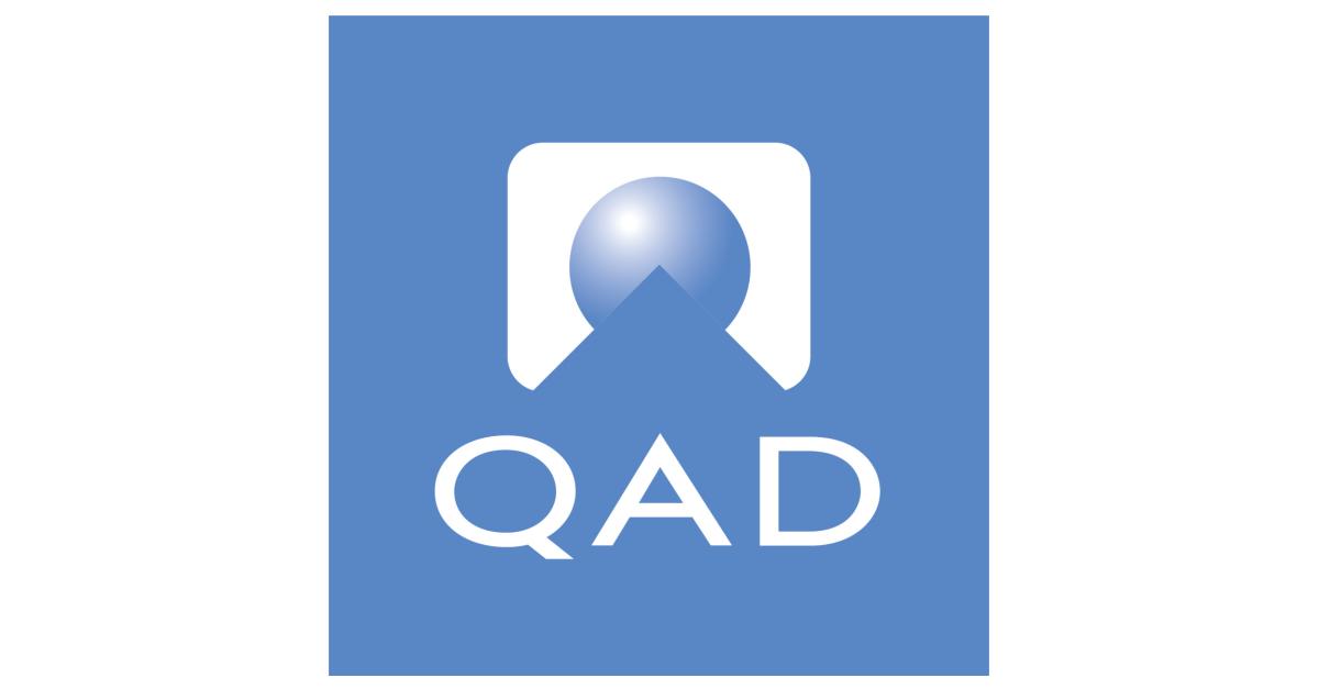 SANTA BARBARA, Calif.--(BUSINESS WIRE)--QAD Inc. (Nasdaq: QADA) (Nasdaq: QADB), a leading provider of adaptive, cloud-based enterprise software and services for global manufacturing companies, today announced that Anton Chilton, its Chief Executive Officer, D…