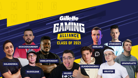 Gillette announced the return of the Gillette Gaming Alliance - a team of global streamers selected to represent the brand and create content for audiences worldwide. (Photo: Business Wire)