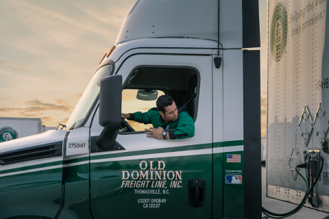 Old Dominion Freight Line is looking to hire 800 Class A CDL truck drivers over the next three months. (Photo: Business Wire)