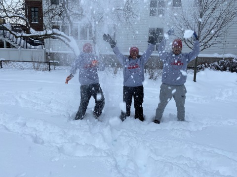 ComEd employee participates in Special Olympic Chicago's Polar Plunge. (Photo: Business Wire)