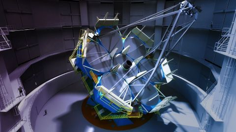 Rendering of inside GMT's enclosure (Graphic: Business Wire)