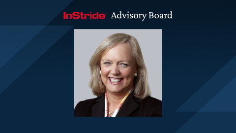 Meg Whitman joins InStride Advisory Board (Graphic: Business Wire)