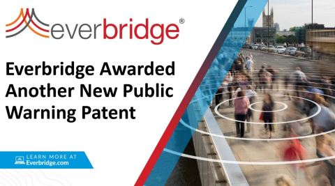 Everbridge Awarded Revolutionary New Public Warning Patent (Photo: Business Wire)