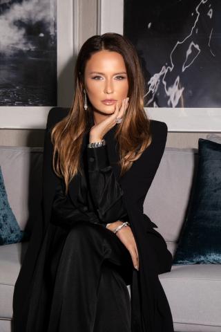 Anna Chybisova, Fashion Designer & Owner, Maison d'Angelann (Photo: AETOSWire)