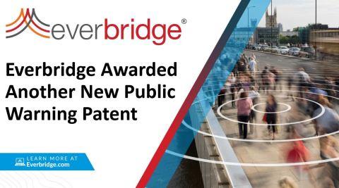 Everbridge Awarded Revolutionary New Public Warning Patent (Photo: Business Wire)