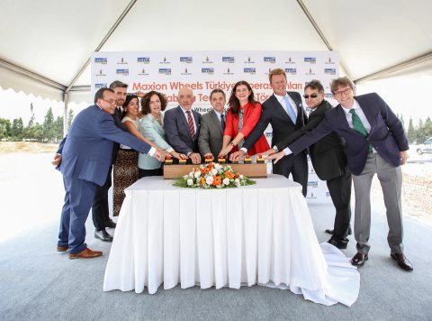Maxion Wheels and Inci Holding announce truck wheel expansion in May 2019 with a groundbreaking ceremony in Manisa, Turkey. (Photo: Business Wire)