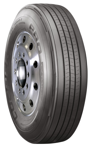 The Cooper® PRO Series™ LHT trailer tire has been selected as standard equipment on Vanguard National Trailer Corporation's dry and refrigerated van trailers. (Photo: Business Wire)