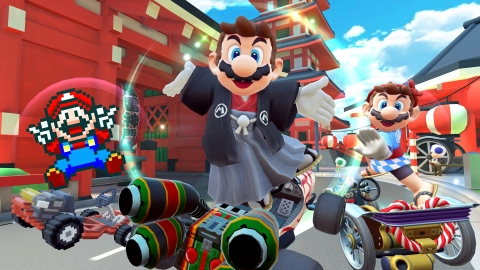 The Mario Kart Tour game for smart devices will feature a Mario Tour available to play beginning March 9 and running until March 23. (Graphic: Business Wire)