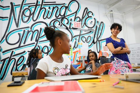 Zynga Teams up with Girls Who Code to Help Raise Awareness and Support for Women in Tech (Photo: Business Wire)