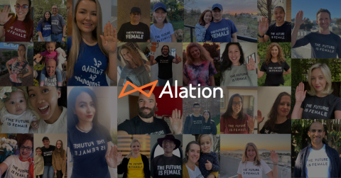Alation Launches New Company Initiatives to Further Support Women in Data and Technology (Graphic: Business Wire)