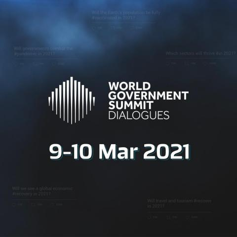 The World Government Summit Dialogues convenes world leaders for two days of virtual sessions to forecast the future trends that will shape the world (Photo: AETOSWire)