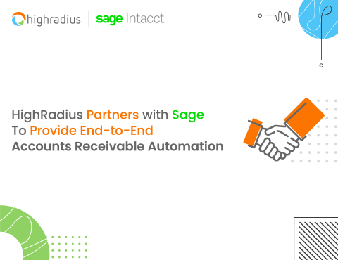 HighRadius Partners with Sage To Provide End-to-End Accounts Receivable Automation (Photo: Business Wire)
