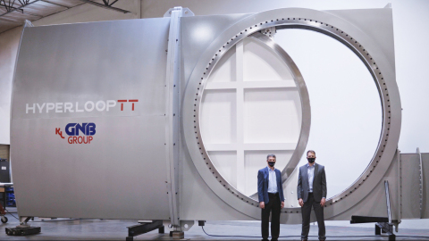 HyperloopTT's Full-Scale Safety Isolation Value (Photo: Business Wire)