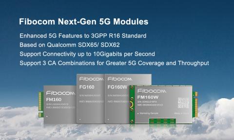 Fibocom Next-Gen 5G Modules (Photo: Fibocom)