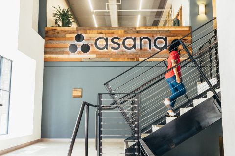 Asana was recognized by Fast Company for its industry-defining approach to company culture and pioneering product innovation in 2020, including the launch of Asana Goals. (Photo: Business Wire)