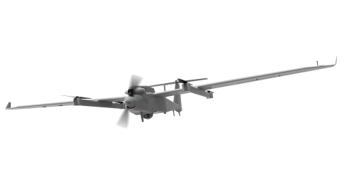 With a best-in-class operational range of 185 km (115 mi) and 14+ hours of endurance, AeroVironment's JUMP 20 is the ideal solution for multi-mission operations. (Photo: AeroVironment)