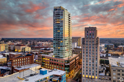 One City Center in Durham, North Carolina (Photo: Business Wire)