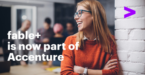 Accenture acquires fable+ to expand analytics-driven transformation and workplace culture capabilities. (Photo: Business Wire)