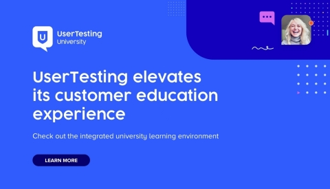 UserTesting University (Graphic: Business Wire)