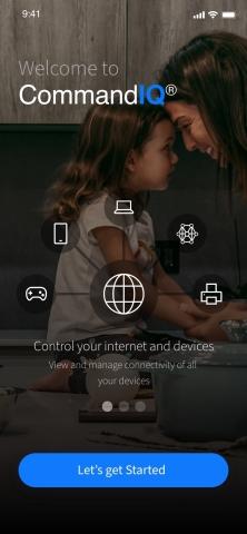 CommandIQ Home Screen (Graphic: Business Wire)