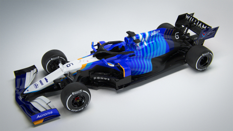 Nexa3D will 3D print complex, light weighted parts for Williams Racing that can be manufactured in minutes compared to hours with traditional manufacturing. (Photo: Business Wire)