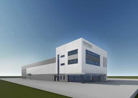 Illustration of Nanox semiconductor fabrication plant in South Korea (Photo: Nanox)