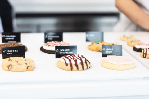 Each week, Crumbl Cookie's menu rotates to give you 4 different specialty flavors to taste and enjoy. (Photo: Business Wire)