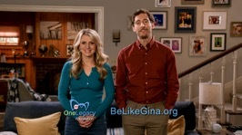 B POSITIVE stars Thomas Middleditch and Annaleigh Ashford encourage people to consider becoming a living kidney donor in a new PSA produced by CBS and the OneLegacy Foundation. (Photo: Business Wire)