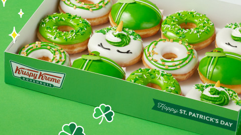 All guests wearing green get one free O'riginal Glazed Doughnut March 16 & 17 (Photo: Business Wire)