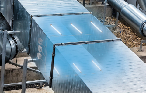 UVDI UV-C Indoor Air Quality technology is installed in over 10,000 commercial buildings globally, including office buildings, airports, healthcare facilities and schools. (Photo: Business Wire)